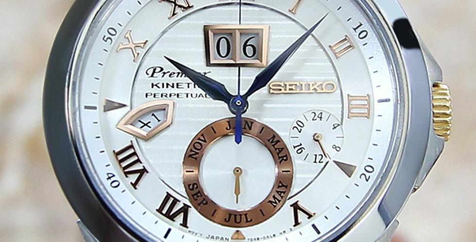 2000 Seiko Premier Kinetic Watch