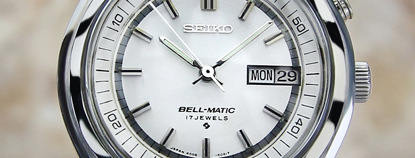 1970's Seiko Alarm Bell Matic Watch