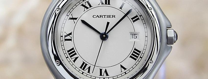 Cartier Panthere 2010 Swiss Mens Watch