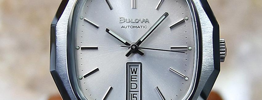 Men's 1970's Bulova N9 Swiss Made Watch
