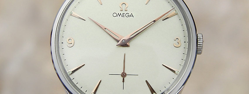1955 Omega 2800-1 Men's Watch