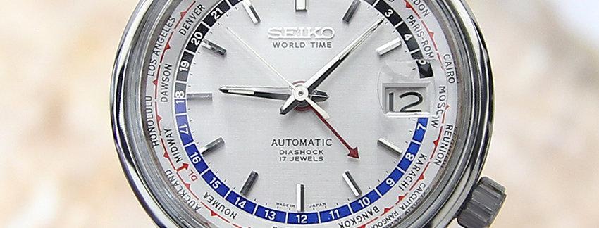 1964 Seiko World Time Watch