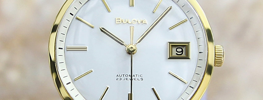 Bulova M7 Gold Plated Men's Watch