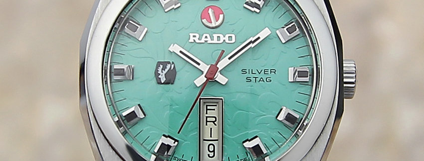 Rado Silver Stag 34mm Men's Watch