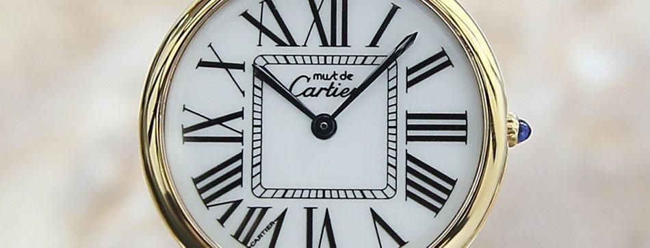 1990 Must De Cartier Vermeil Watch