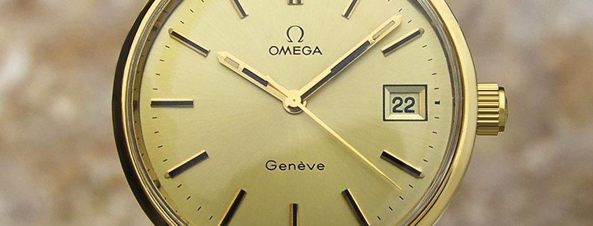 1970's Omega Geneve 1620491 Watch