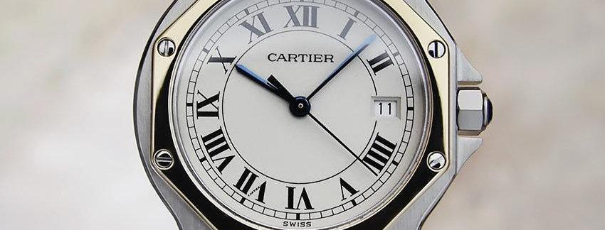 1988 Cartier 18k Gold Ladies Watch