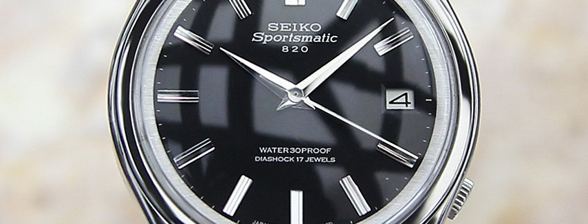 Seiko Sportsmatic 820 1966 Watch for Men   WatchArtExchange