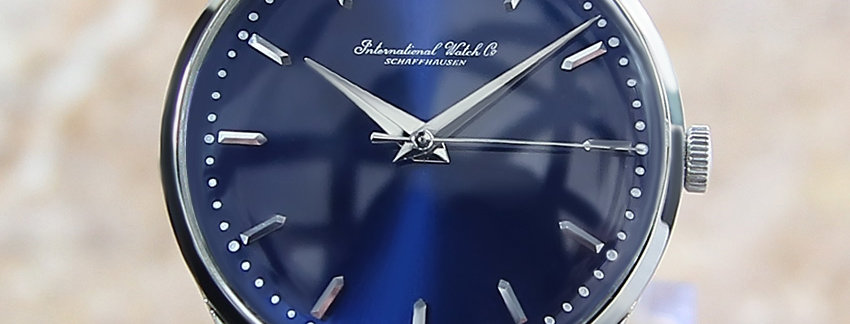 IWC International Watch Co Rare Men's Watch