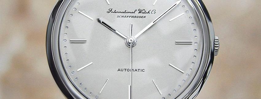 1960s IWC International Watch Co  Rare Vintage Watch