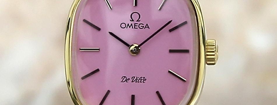 Omega DeVille Swiss Manual Watch