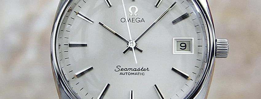 1970's Omega Seamaster Swiss Watch