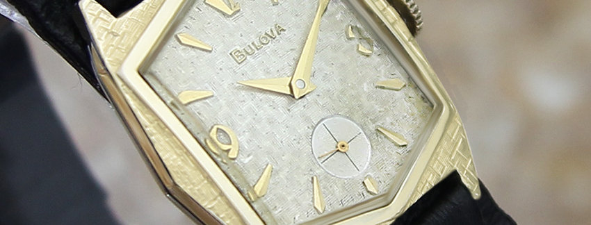 Rare Vintage 1940s Bulova Men's Watch