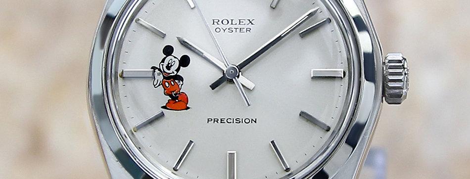 Rolex 6426 White Dial Watch