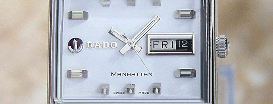 Rado Manhattan 1970 Swiss Made