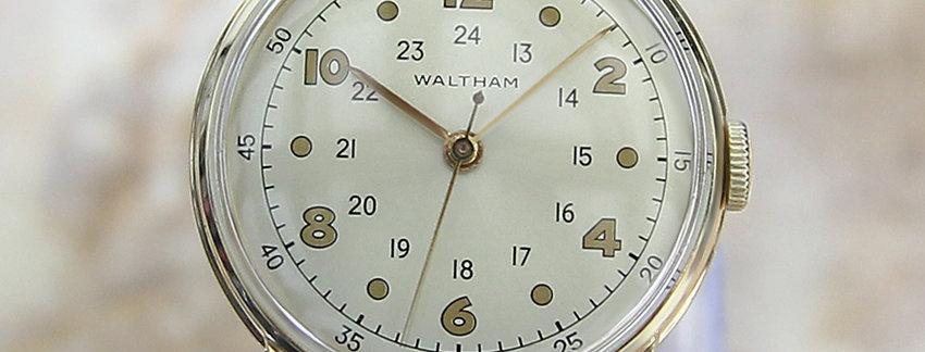 Waltham 1960 Gold Watch for Men | WatchArtExchange