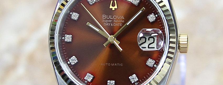 Bulova Super Seville Swiss Men's Watch