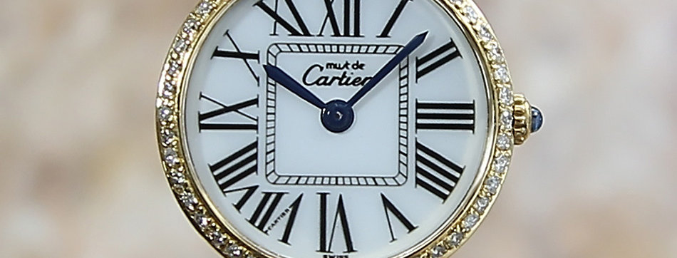 1990 Cartier Must de Cartier Vermeil Watch
