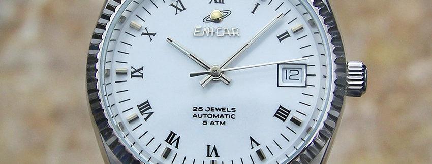 Enicar Exquisite Swiss Made 1980  Men's Watch