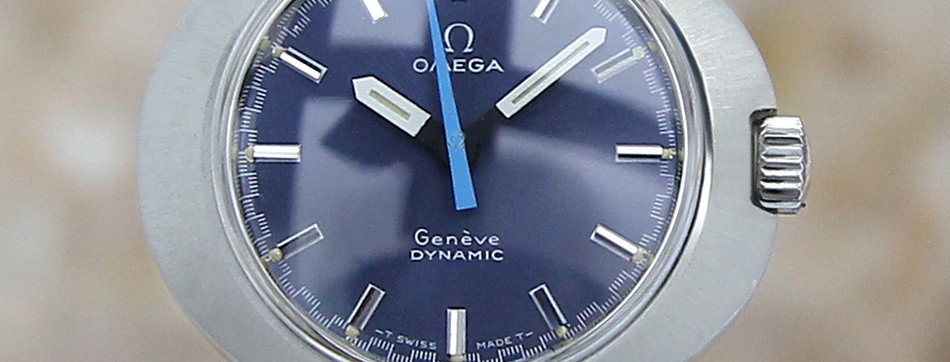 1960's Omega Geneve Dynamic Swiss Watch