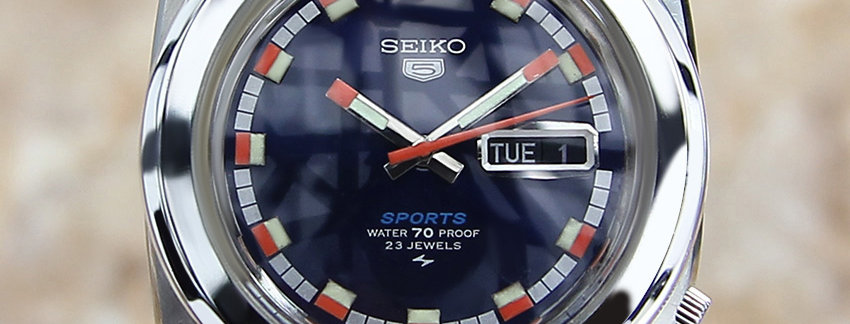 Seiko 5 Sports 5126 8120 Luxury Watch