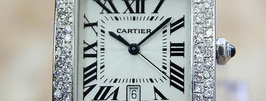 Men's CartierCartier Tank Francaise2302 Luxury Watch