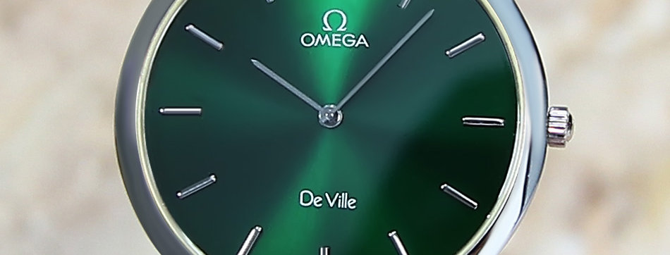 Omega DeVille Swiss Watch for Men