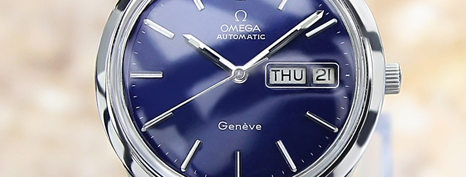 1970's Geneve Day Date Automatic Watch