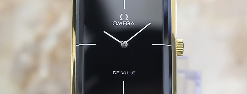 1960's Omega DeVille Andrew Grima Watch