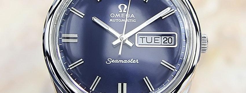 1968 Omega Seamaster Swiss Watch