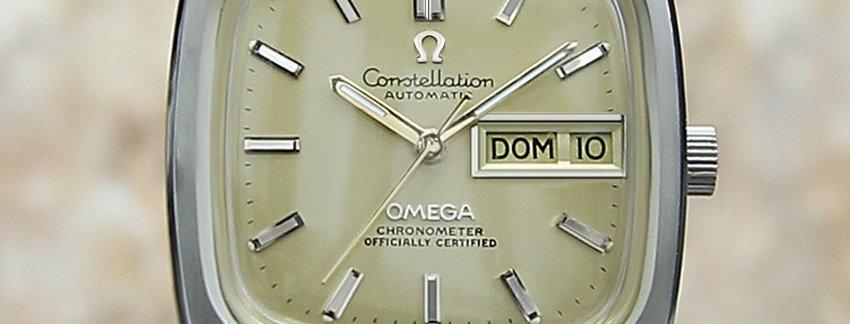 1968 Omega Constellation Watch