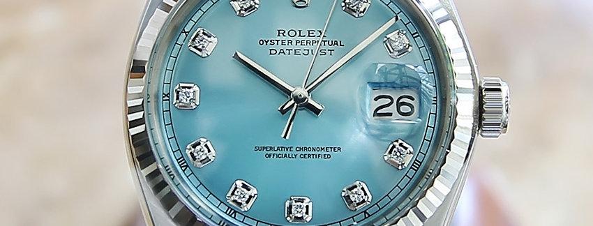 Rolex 1601 Diamonds Men's Watch
