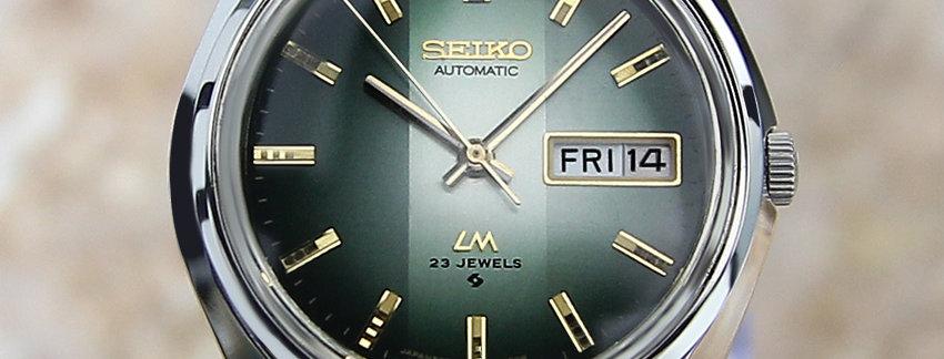 Seiko Lord Matic 5606 7310 Men's Watch