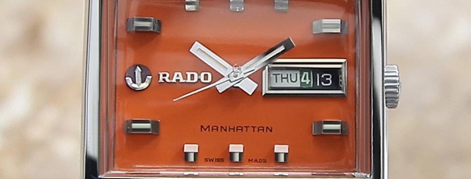 1970's Rado Manhattan Watch