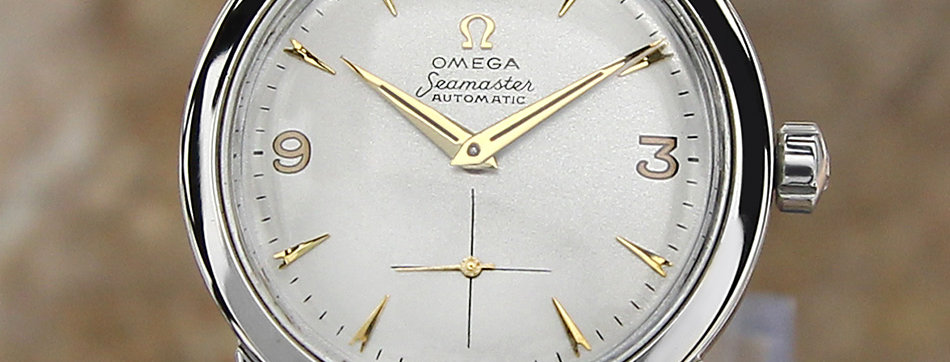 Omega Seamaster Cal 344 Automatic Watch