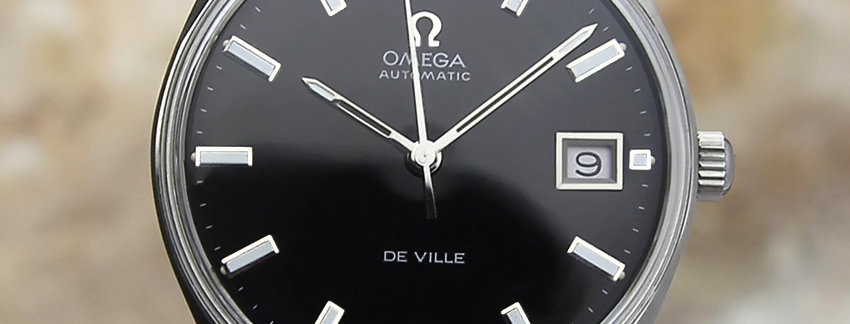 Omega DeVille 1970s Men's Watch