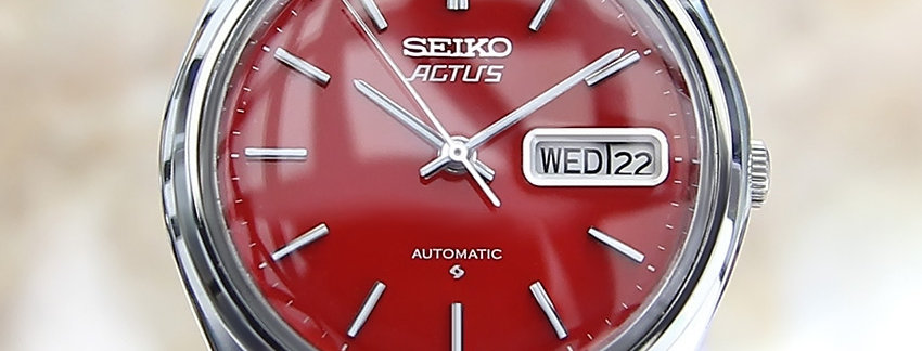 1970's Seiko Actus Watch
