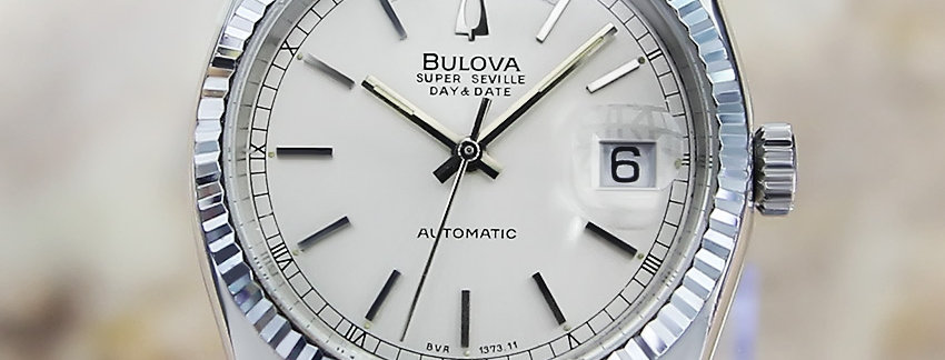 Bulova Super Seville Men's 11 mm Dress Watch