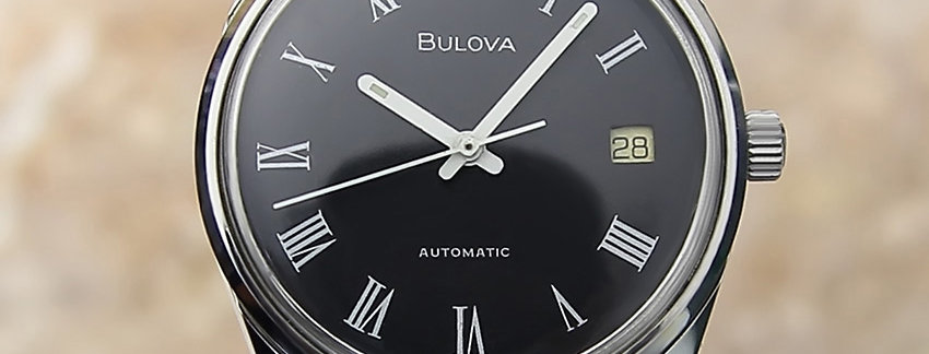Bulova N8 Stainless Steel 1970s Men's Watch
