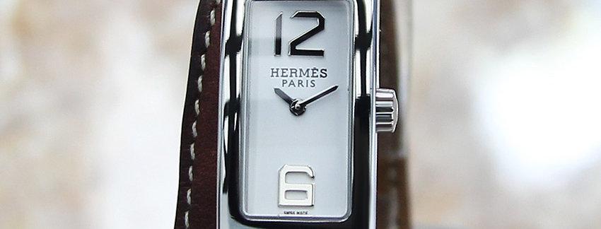 Hermes KT1.210 Kelly 2 Double Tour Ladies Luxury Watch