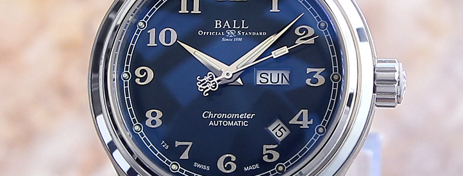 Ball Trainmaster Cleveland Express Automatic Watch