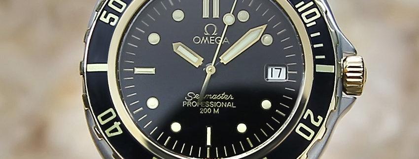 1980 Omega Seamaster Men's Watch