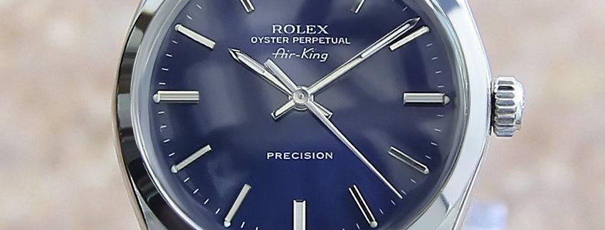 Rolex Air King 1002 Men's Watch
