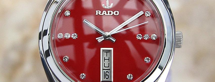 Rado 6037 9162 Men's Tungsten Watch
