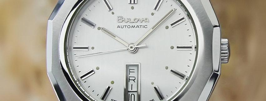 1980's Bulova N6 Swiss Made Men's Watch