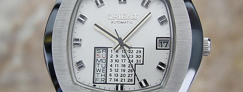 Orient Calendar 37mm Men's Watch