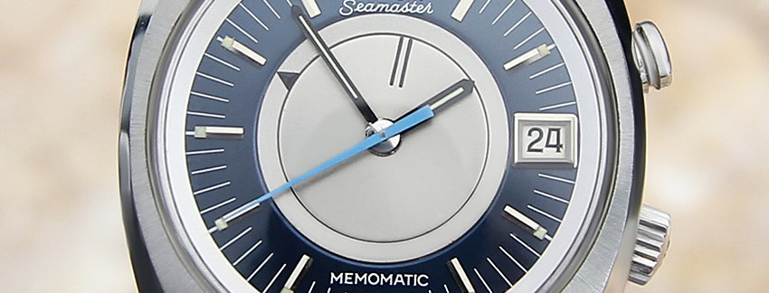 1969 Omega Seamaster Memomatic  Men's Watch
