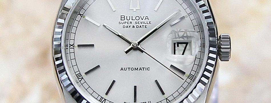 Bulova Super Seville Automatic Watch