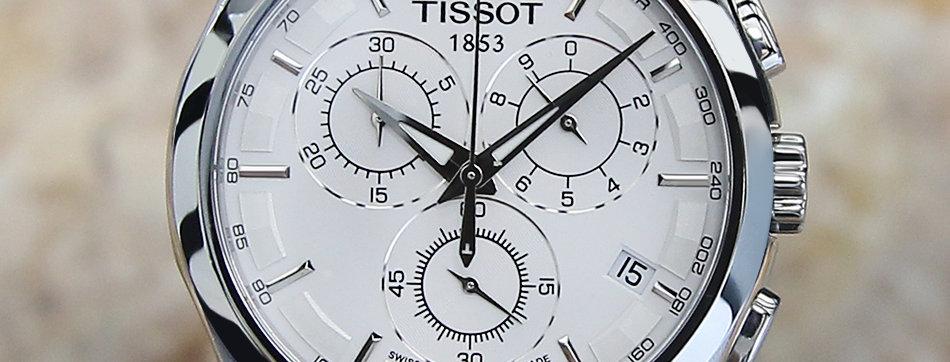 Tissot Couturier T035617A Men's Chronograph 2012 Watch