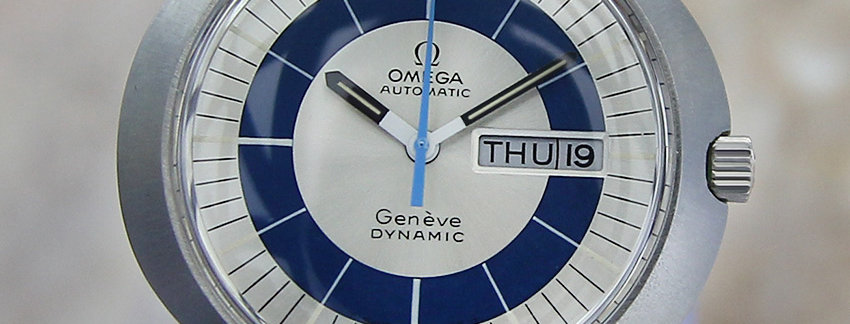 1960 Omega Geneve Dynamic Men's Date Watch